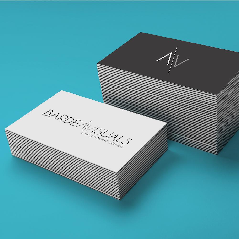 Barden Visuals- branding and website