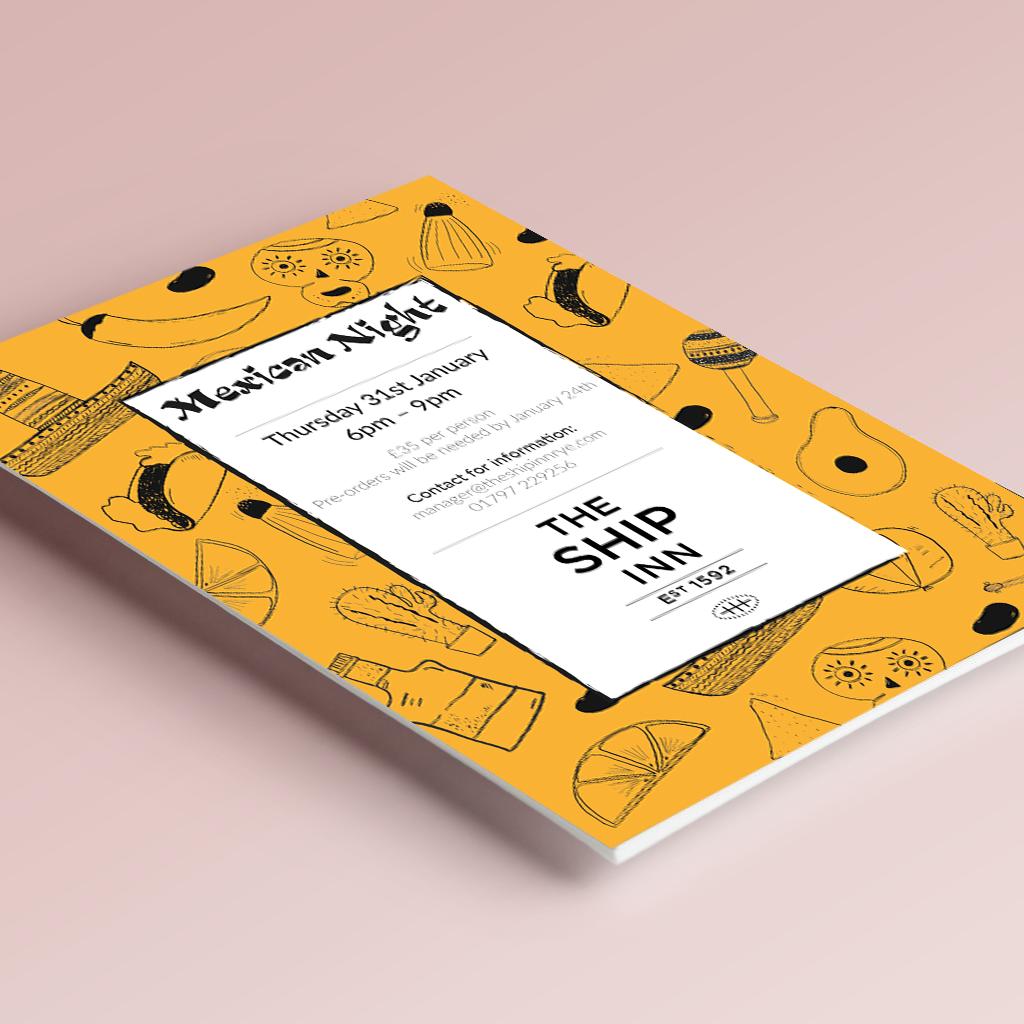 Leaflet design & illustration