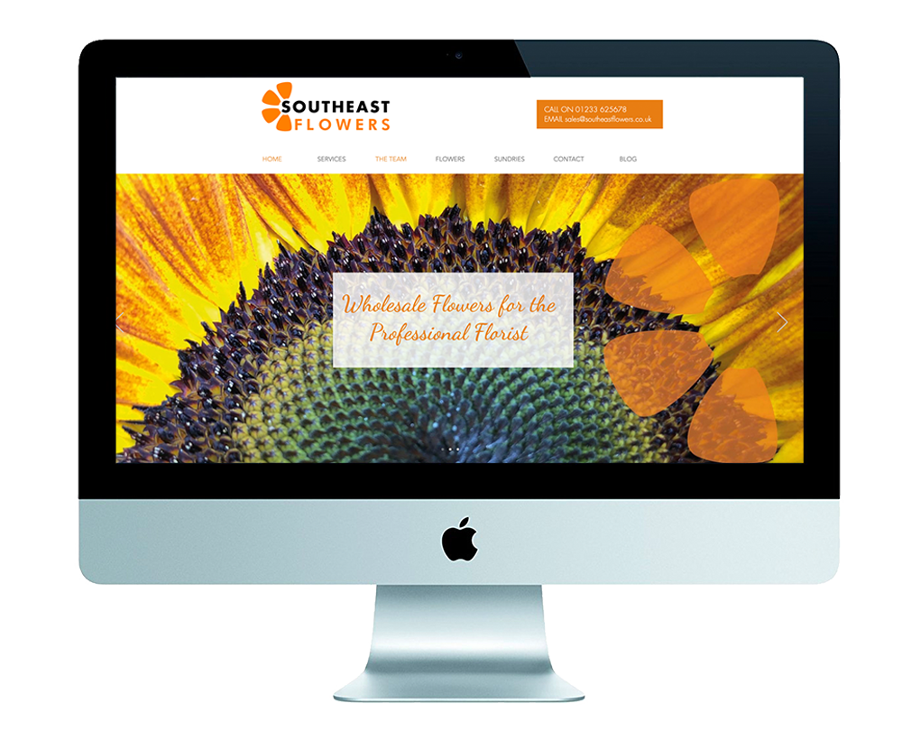 southeast flowers, website design
