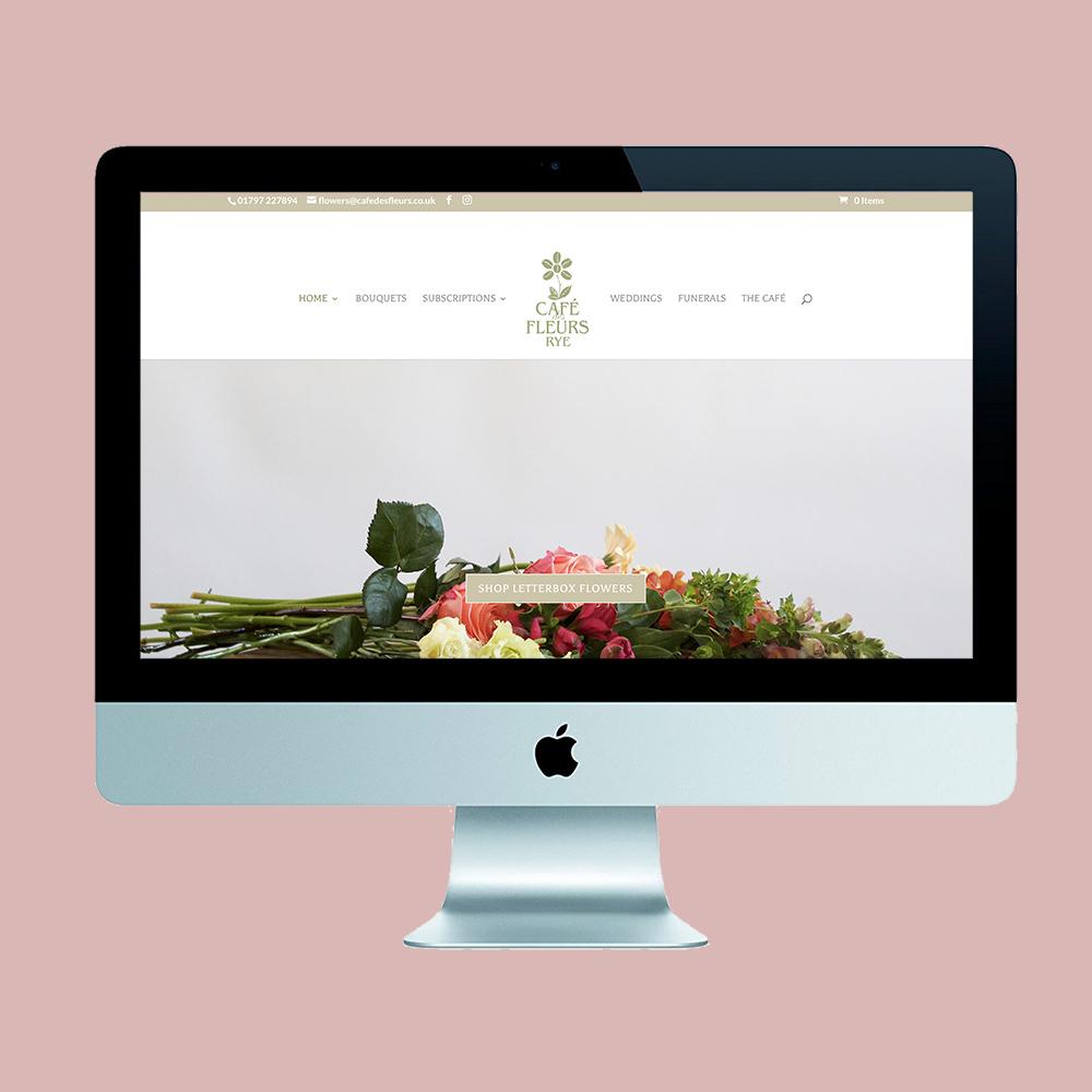 rockpool creative, marketing agency, kent, marketing agency east sussex, Cafe des Fleurs, florist, local florist, florest Rye, subscription flowers, florist Kent, florist East Sussex