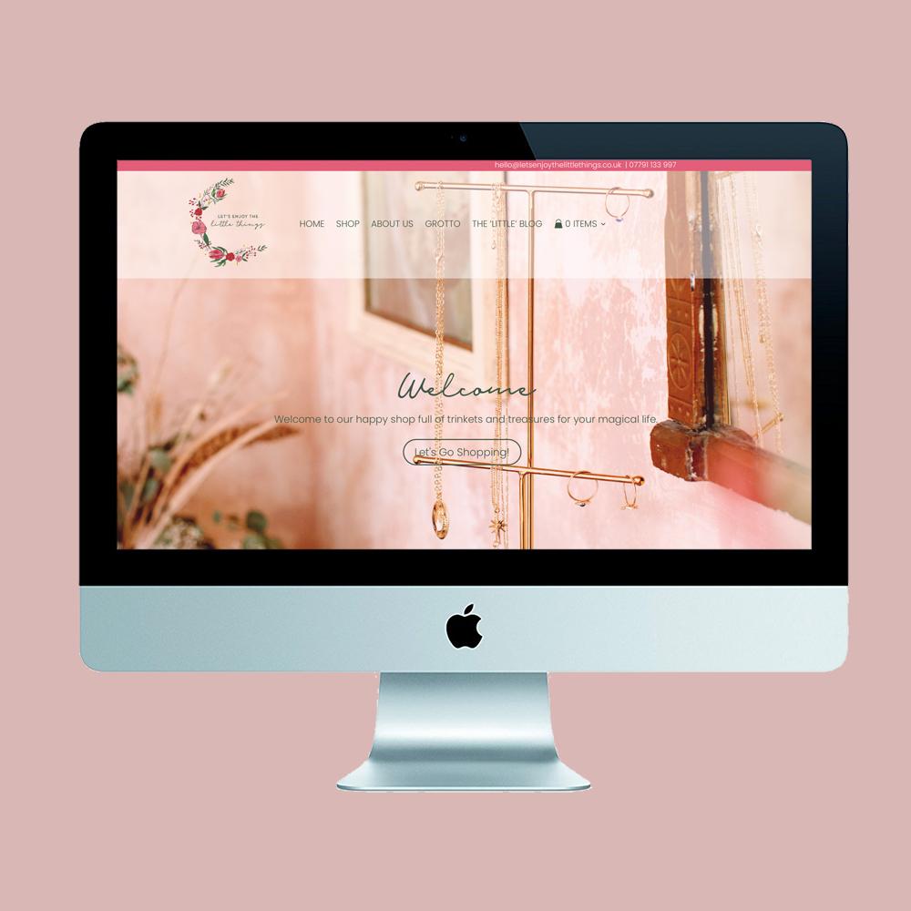 southeast sundries, rockpool creative, website design